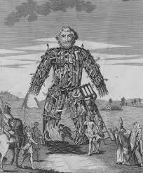 wicker man a form of sacrifice that julius caesar alleged the