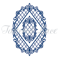 diamond trellis frame d979 u2013 tattered lace