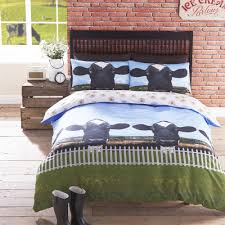 bedding holy cow duvet cover set cows in the bedroom pinterest