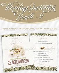 wedding invitation bundles 40 best wedding invitation psd templates designmaz