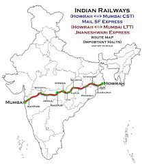 Metro Gold Line Map by Howrah U2013nagpur U2013mumbai Line Wikipedia