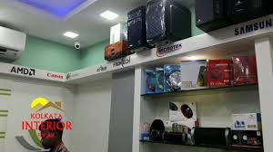 small showroom shops interior designing ideas kolkata youtube