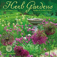 herb gardens 2018 wall calendar 762109027677 calendars com