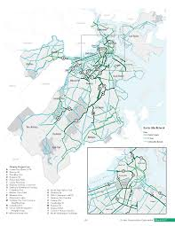 Green Line Boston Map by Go Boston 2030 Plan To Bring Harbor Ferries N Station S Station