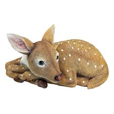amazon com design toscano darby the forest fawn baby deer