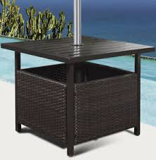 outdoor furniture side table wicker side table ebay
