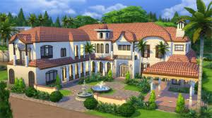 the tuscan house the sims 4 interactive gallery spotlight houses 15 08 15 sims