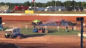 monster truck jam charlotte nc 2015 monster truck jam charlotte dirt track youtube