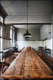 Best Long Dining Tables Images On Pinterest Dining Room - Long kitchen tables
