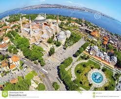 Istanbul Turkey Map Hagia Sophia Istanbul Turkey Stock Photo Image 42113415