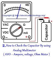 how to test a capacitor 6 ways to check a capacitor electrical eng