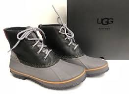 hiking boots s australia ebay ugg australia s zetik waterproof leather lace up boots metal