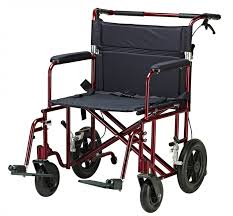 drive bariatric heavy duty transport chair from partner medical