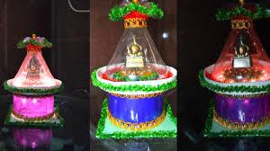 diy handmade diwali decoration idea plastic bottle showpiece