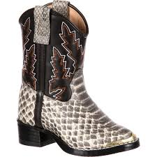 youth motorcycle boots durango big kids u0027 snake print pull on western boot bt913