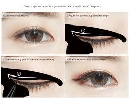 Eye Liner cat eye eyeliner stencil makeup liner stencil models eyeshadow