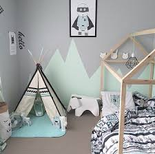 cabane enfant chambre tendance le lit cabane pour enfant