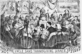 nast s thanksgiving served by sam or who the war invited