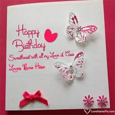 12 best birthday wishes cards with name images on pinterest name