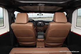 Jeep Wrangler Waterproof Interior Review 2012 Jeep Wrangler Rubicon The Truth About Cars