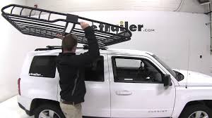 Subaru Forester 2014 Roof Rack by Review Of The Rhino Rack Roof Mounted Steel Cargo Basket