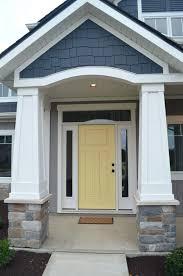 front door colors for dark gray house color scheme light siding