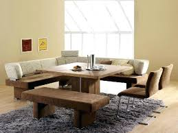 Breakfast Bench Nook Dining Table Leather Corner Bench Dining Table Set Canada Black