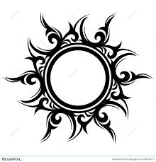 abstract sun flower illustration 49334751 megapixl