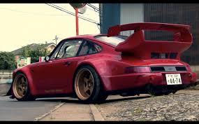 stanced porsche 964 964 porsche 911 rwb