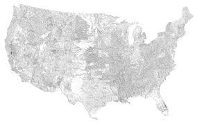 Black And White United States Map by Map United States Rivers Boaytk Physical Maps Of United States