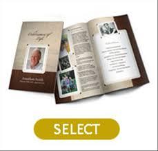 Funeral Programs Online Print At Home Funeral Programs Design Online