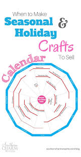 when to make seasonal and holiday crafts to sell editorial