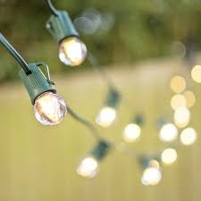 100 ft outdoor string lights outdoor string lights led globe string lights g30 bulb 100 ft green