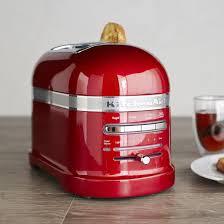 sur la table toaster kitchenaid pro line toaster 2 slice sur la table