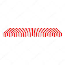 Red And White Striped Awning Awning Vector U2014 Stock Vector Viktorijareut 68622003