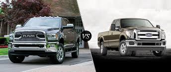 dodge ram vs f250 2016 ram 2500hd vs 2016 ford f 250 duty