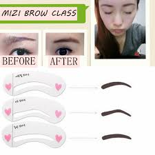 Shaping Eyebrows At Home Online Buy Wholesale Eyebrow Stencils From China Eyebrow Stencils