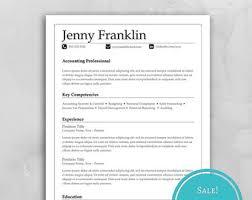 Cover Letter For Resume Download Resume Cover Letter Etsy