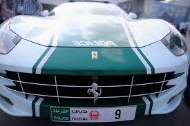 police ferrari the luxury cars of the dubai police department