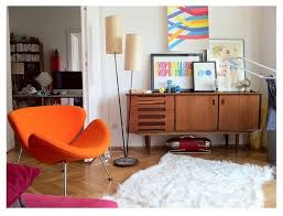 Midcentury Modern Colors - try these 5 color palettes for a midcentury modern look