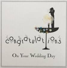 wedding day congratulations five dollar shake congratulations on your wedding day card