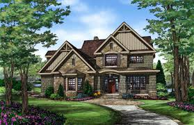 craftman home plans fascinating 1 5 story house plans craftsman photos best idea