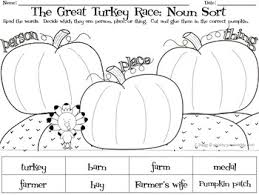 thanksgiving the great turkey race literacy and math activities