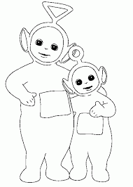 teletubbies coloring pages and pictures toddlers love print
