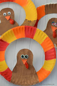 paper plate turkey craft the resourceful