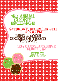 christmas cookie exchange invitations christmas lights decoration
