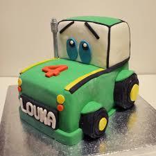 Gateau Tracteur by Design Cake Petit Tracteur Cakedesignfactory