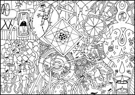 Detailed Coloring Pages Fine Design Detailed Coloring Pages For Adults Printable 339 by Detailed Coloring Pages