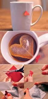 heart shaped tea bags inexpensive diy r k c southern