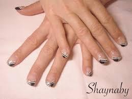 deco ongle en gel noir et blanc accueil page 3 shaynaby